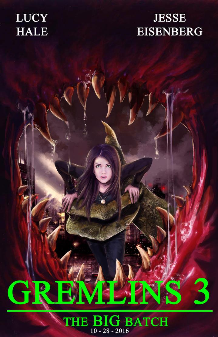 gremlins 3 movie poster by mark35950 on deviantart