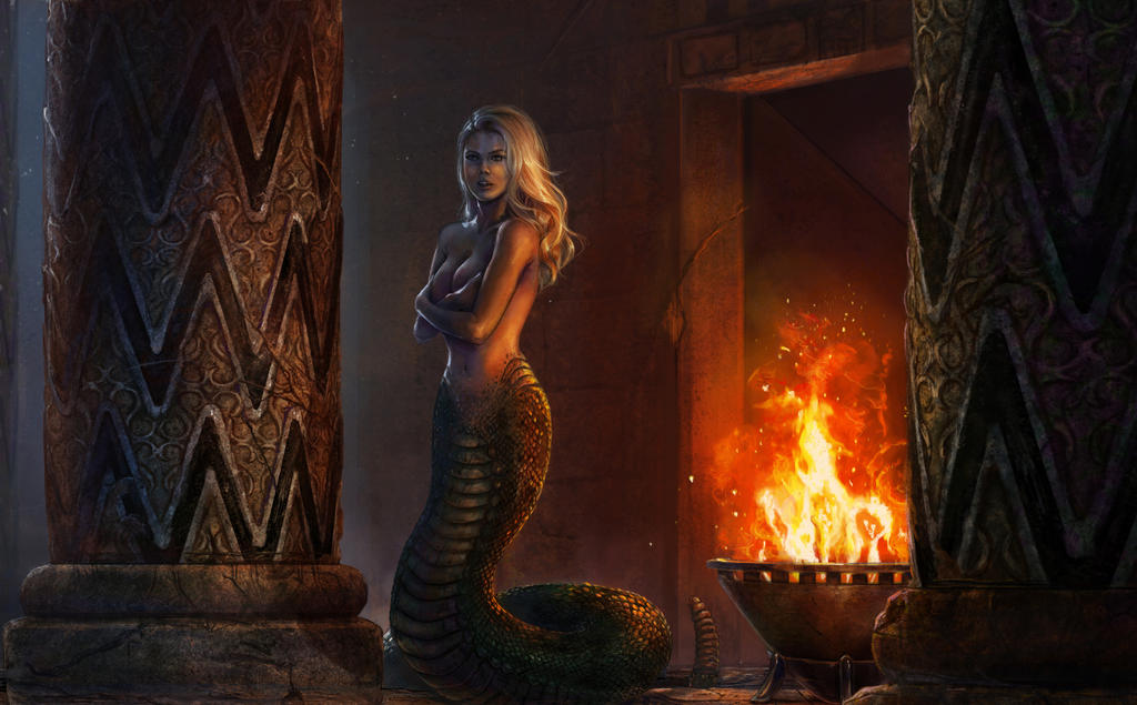 Medusa (Charlotte McKinney) by Mark35950