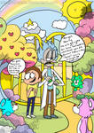 Rick and Morty in the Forest of Feelings (chall) by AlexandraToons
