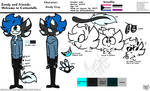 Zendy Gray (reference sheet)