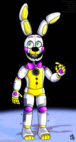 funtime springbonnie by AlexandraToons
