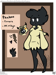 pikaboo the mimikyu (pokemon oc ref)
