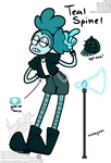 teal spinel (gem oc)