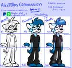 commission below (OPEN)