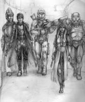 Star wars RP-group by Wozy