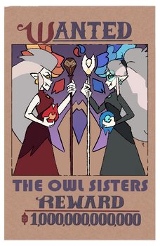 The Owl House: Clawthorne sisters