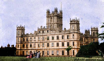Highclere Castle in 1857 by MemoriesOfTime97
