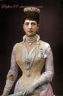 Alexandra of Denmark by MemoriesOfTime97