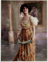 Vintage woman Miss Elsie by MemoriesOfTime97