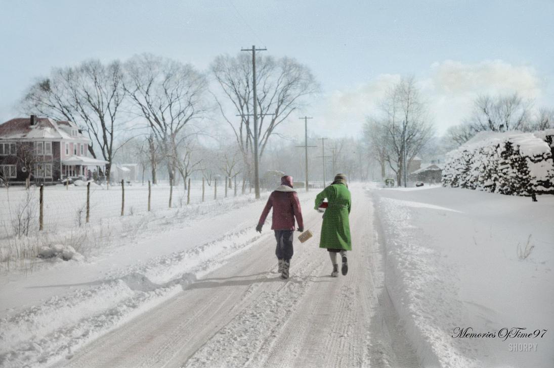 A Winter Landscape by MemoriesOfTime97