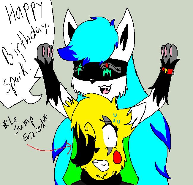 Sparkychan23's Birthday! by Epic-Aurastorm