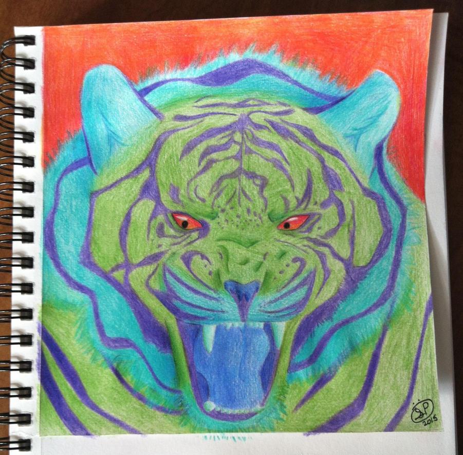 Realistic Tiger by Epic-Aurastorm