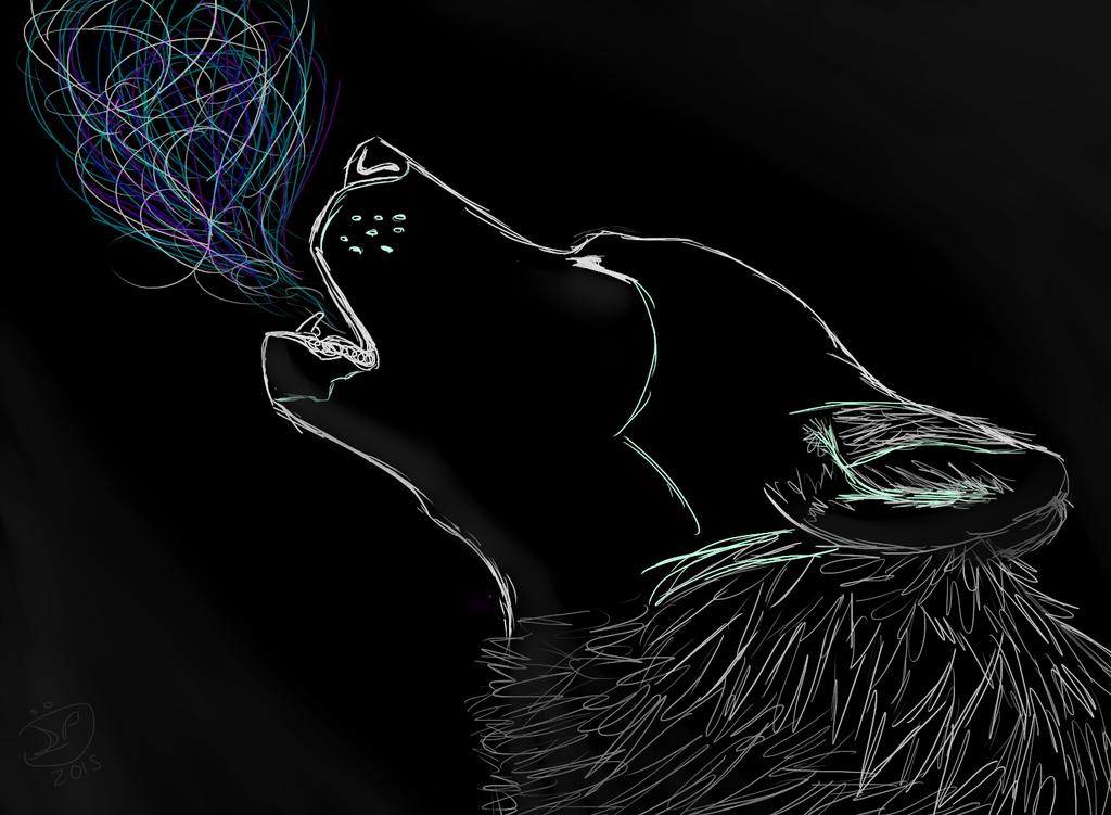 Technicolor howl by Epic-Aurastorm