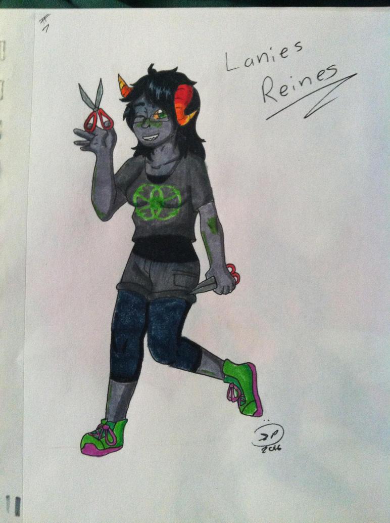 OC REQUEST 7 - Laniea Reines by Epic-Aurastorm