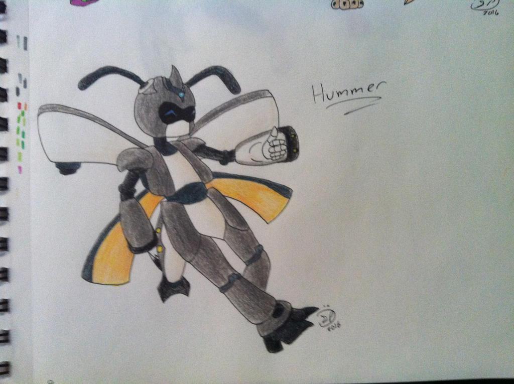 OC REQUEST 9 - Hummer by Epic-Aurastorm
