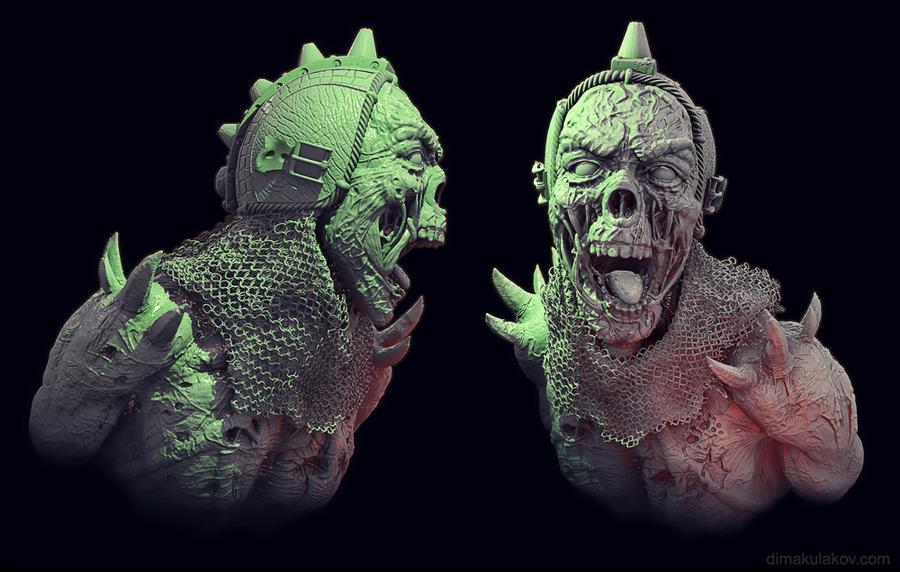 Medieval Spawn re-render by eye-work