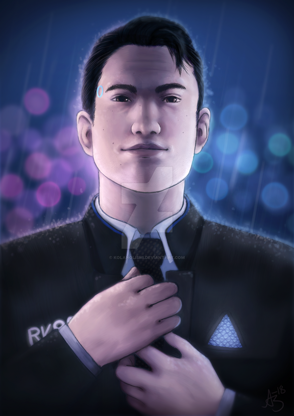 Connor - Detroit: Become Human by Kolaholismi