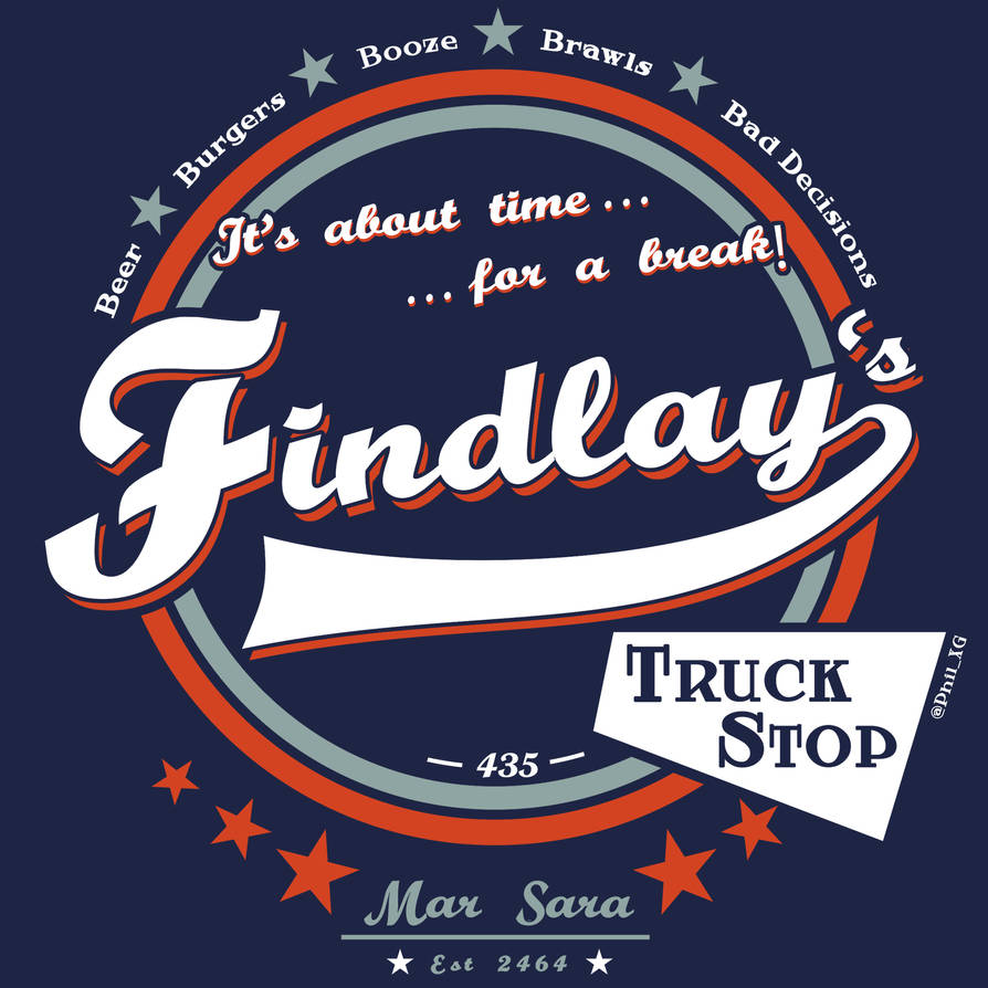 Findlay's Truck Stop by Phil-XG