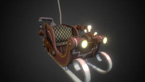 Steampunk Sleigh by Phil-XG