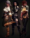 Witcher Girls