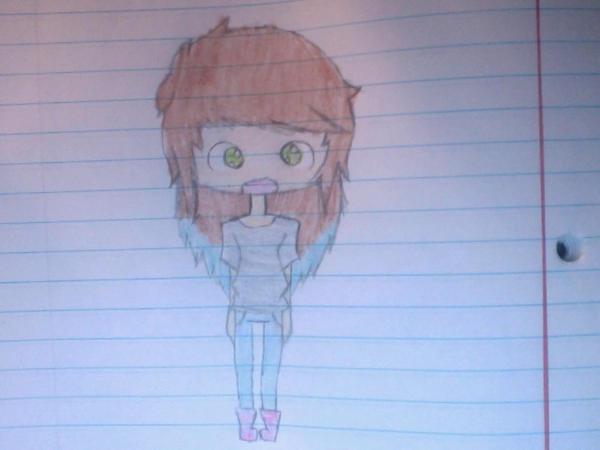 Me as a Chibi by xMissHazel