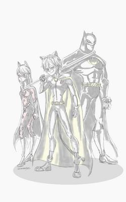 Miraculous BatTeam doodle