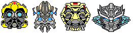 Transformer Icons by Irobashi-Chronicles