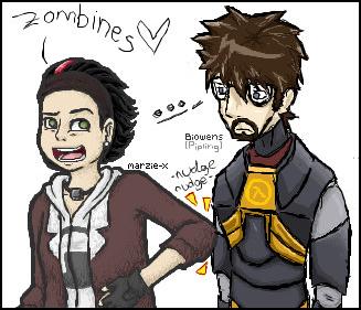 Like a zombine by marzie-x