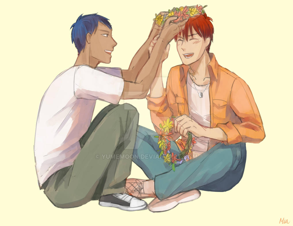 Making flower crown by yumemoon on deviantart making flower crown by yumemoon izmirmasajfo