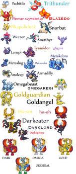Pokemon sprites