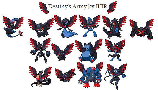 Pokemon sprites -destinys army