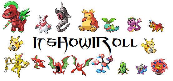 Pokemon sprites sheet