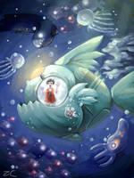 Fish Submarine by Cati-Saki