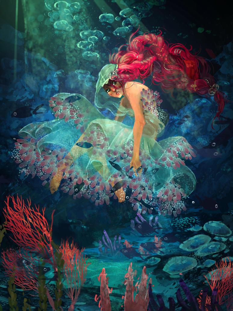 Ocean Princess by xZombieCandy