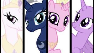 The Princesses of Equestria - Base