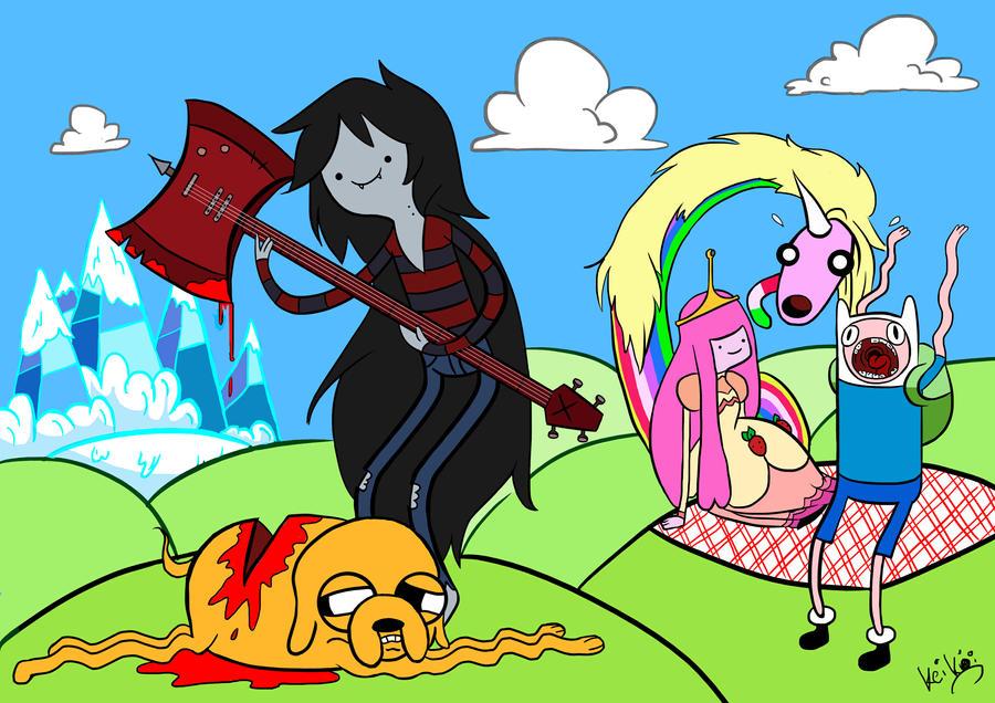 Adventure Time Fanart by KeiKo-Ran