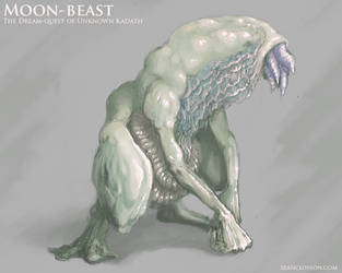 Moon-Beast Design by SeanClosson