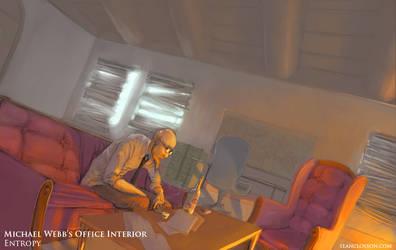 Michael Webb's Office Interior by SeanClosson
