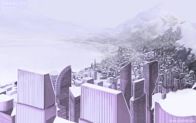 Zhang He Cityscape by SeanClosson