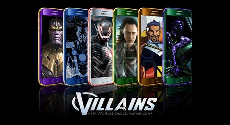 Galaxy S6 Edge Villains Variant