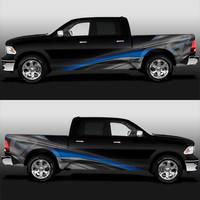 G-Squared Construction Truck Vinyl Design