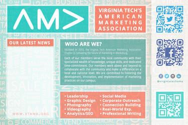 VTAMA - Virginia Tech AMA Board Advertisement