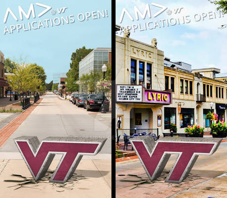 Virginia Tech 3D Snapchat Filter
