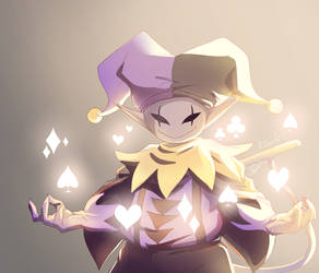 Jevil- Magic by Bluez-art