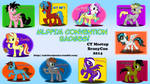 Convention Badges! BronyCon 2014