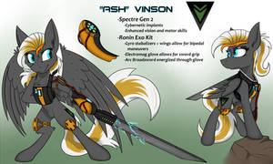 Ponification: Ash Vinson by DangerCloseArt