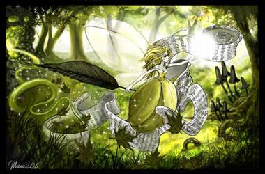 Calligra-Fee - Pen-Fairy-Ship