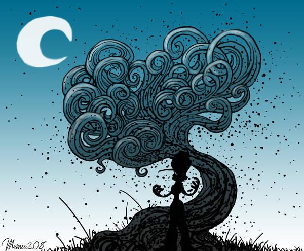 Tree of night by Manu-2005