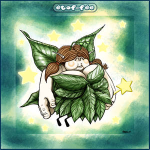 Fat Fairy with a background