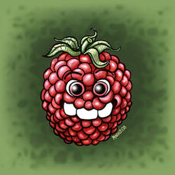 Three Teeth - Raspberry